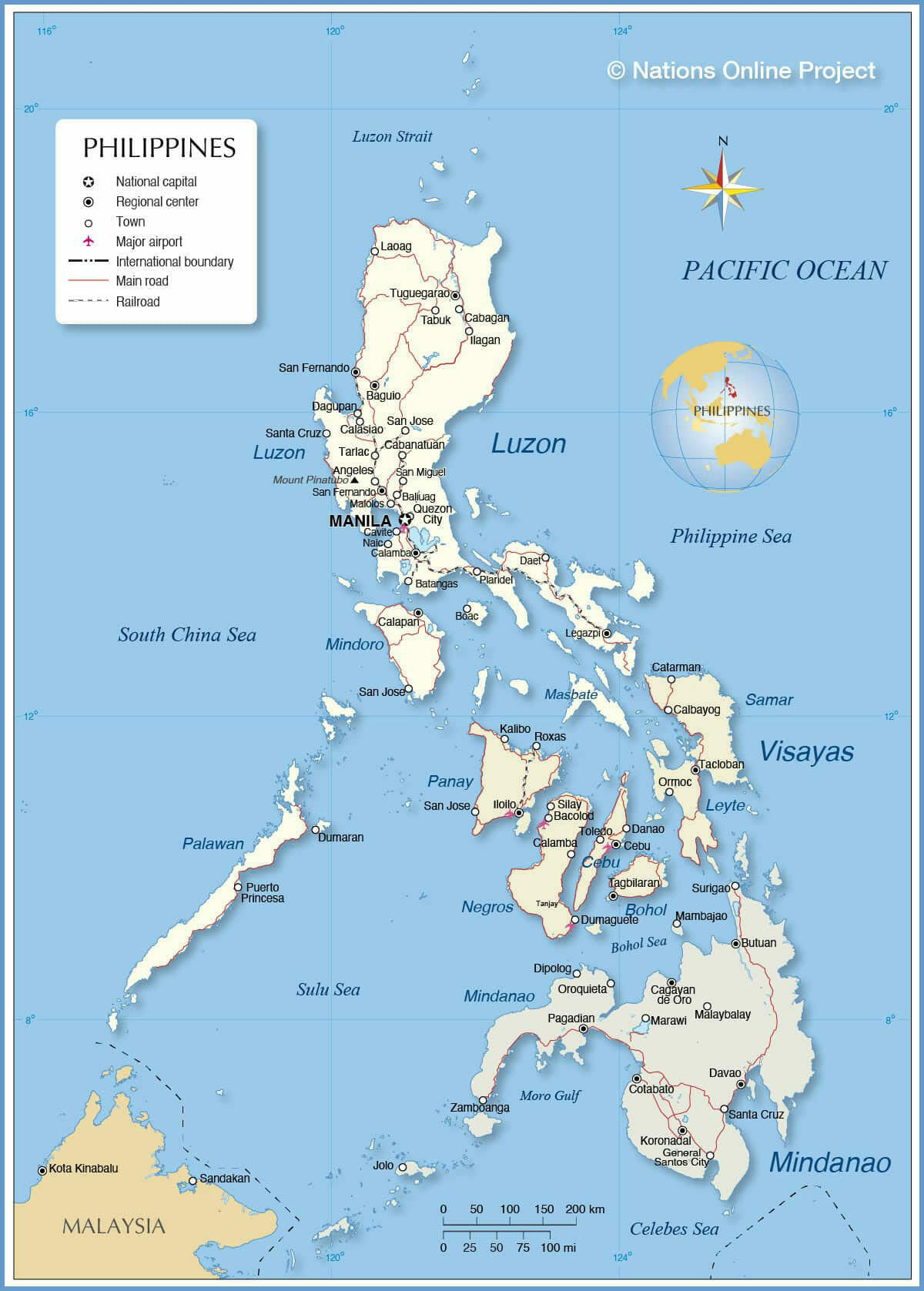 Area of The Philippines